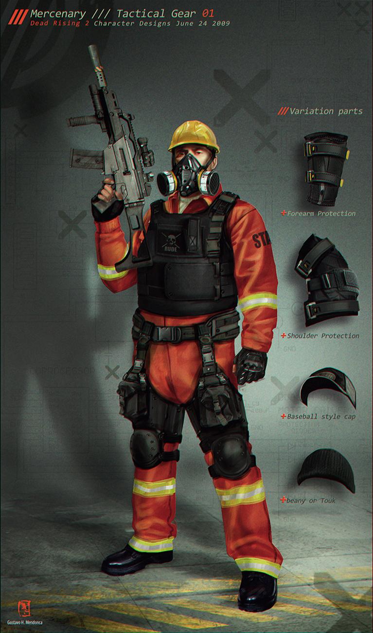 Mercenary Base /// Gus Mendonca