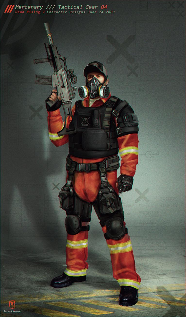 Mercenary Upgrades /// Gus Mendonca