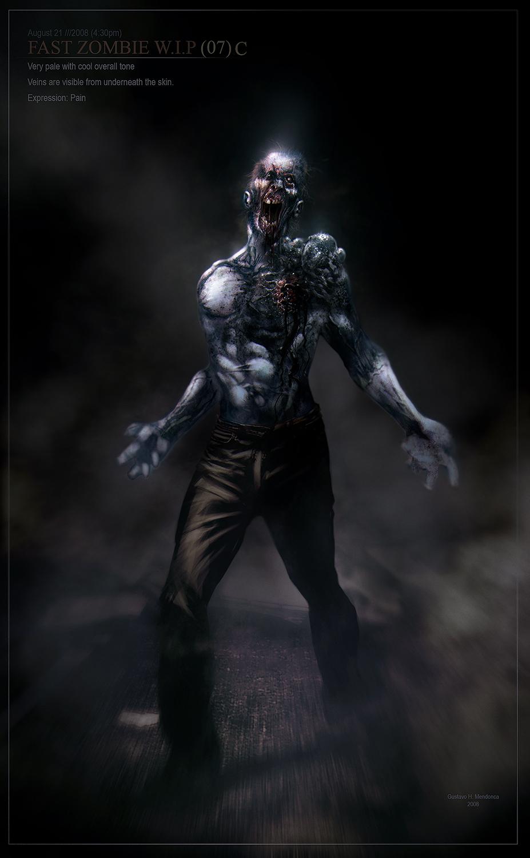 Fast Zombie /// Gus Mendonca