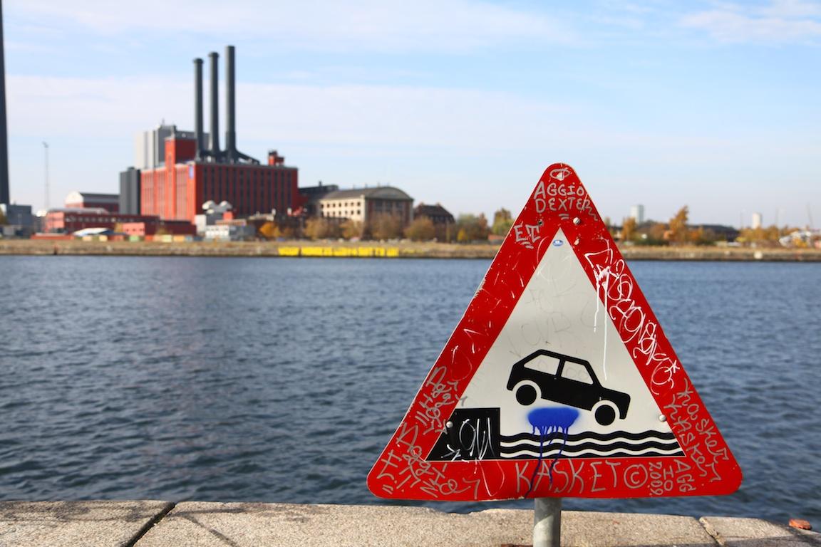 End of the line, Copenhagen, Denmark