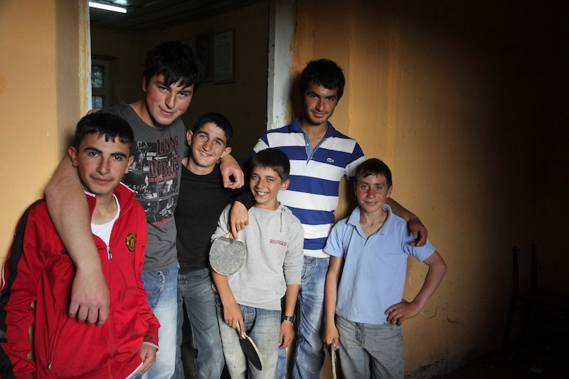Local kids in a small village I camped out in.