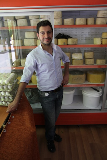 Kars is famous for its cheese and honey, there are dozens of shops selling just these two products.