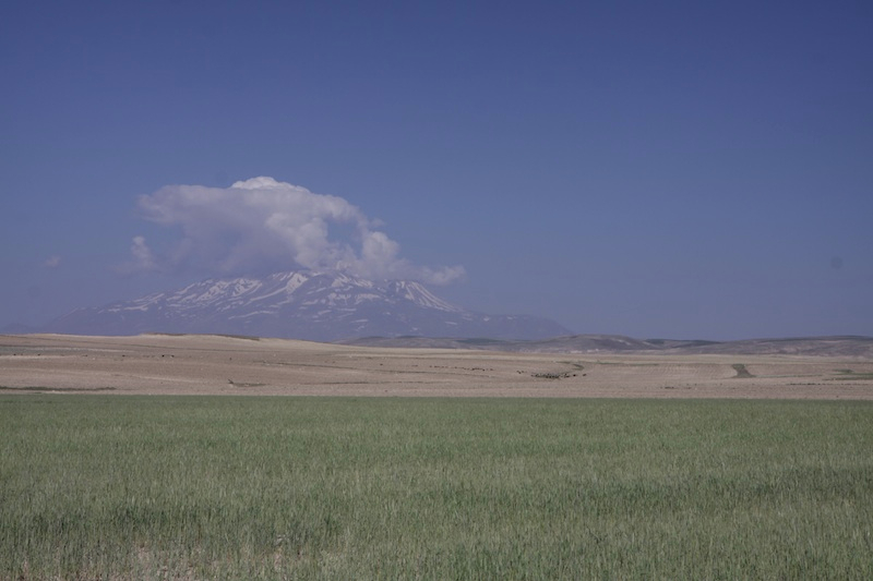One of many volcanoes in the area of Van.