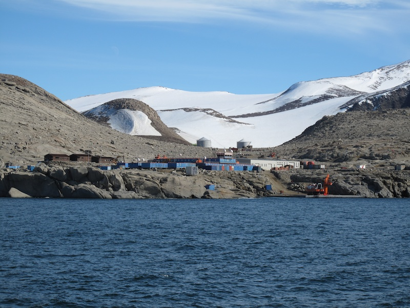 The Italian Terra Nova Base.