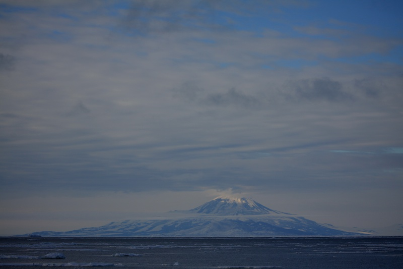 Mt. Discovery on the far side of McMurdo Sound.