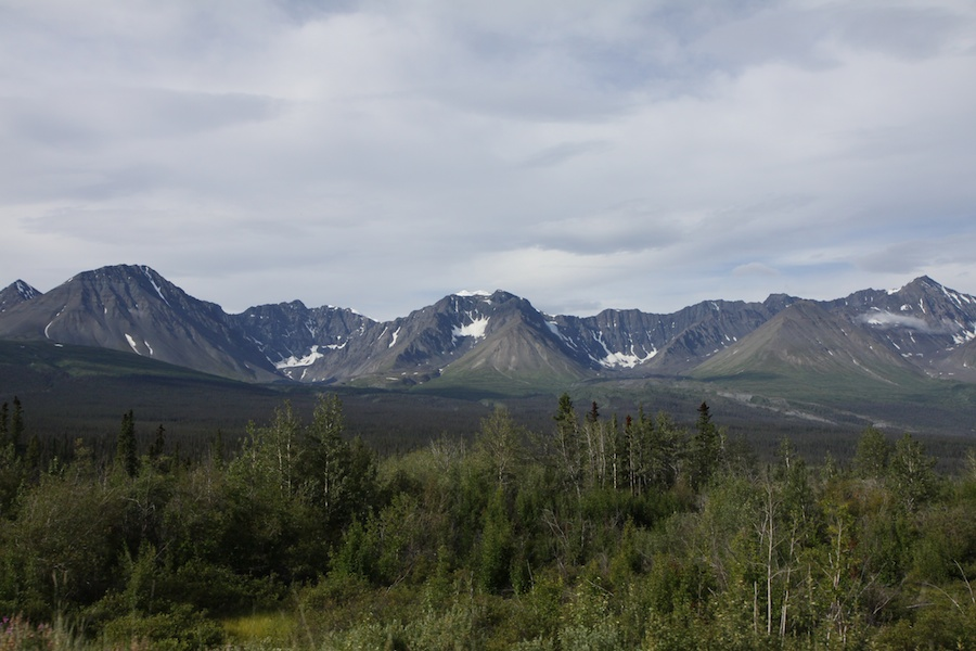 Whitehorse to Haines Junction
