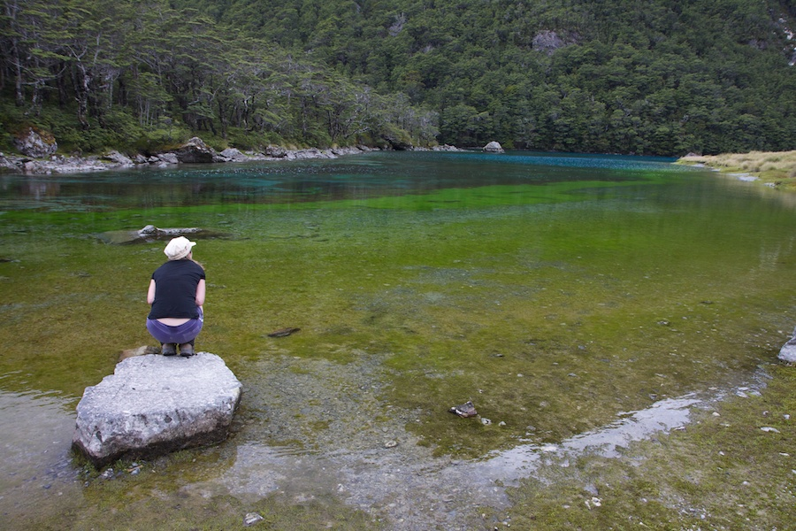 Blue Lake, now shown to be the worlds clearest water with visibility of over 80 m!