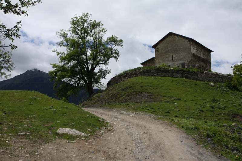 Heading deep into the Svaneti region