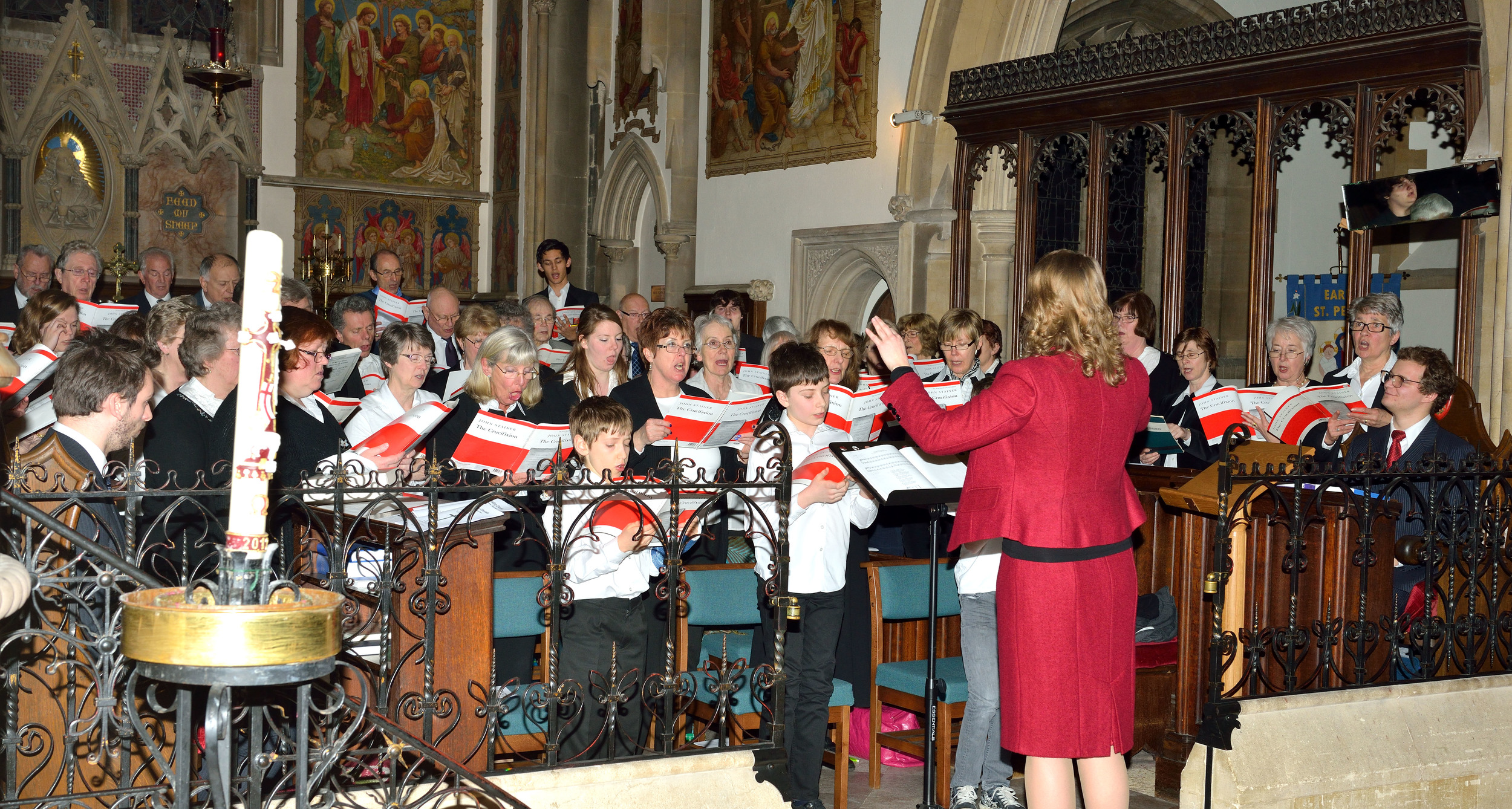 Reading Chorale performing Stainer's Crucifixion, March 2013