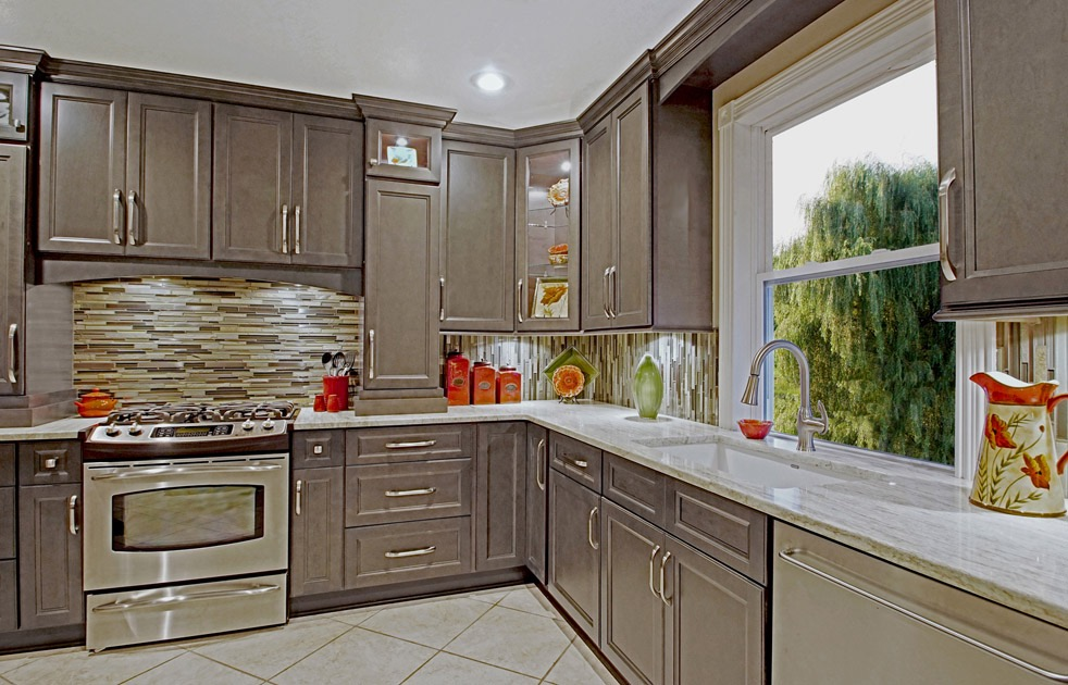 Our New West Point Grey Kitchen Cabinets are available!