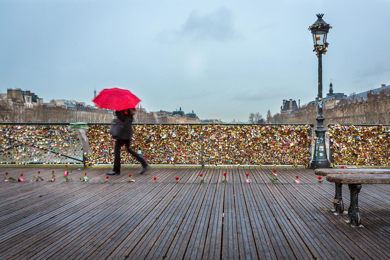 Pont des arts. Paris. © Sébastien Borda