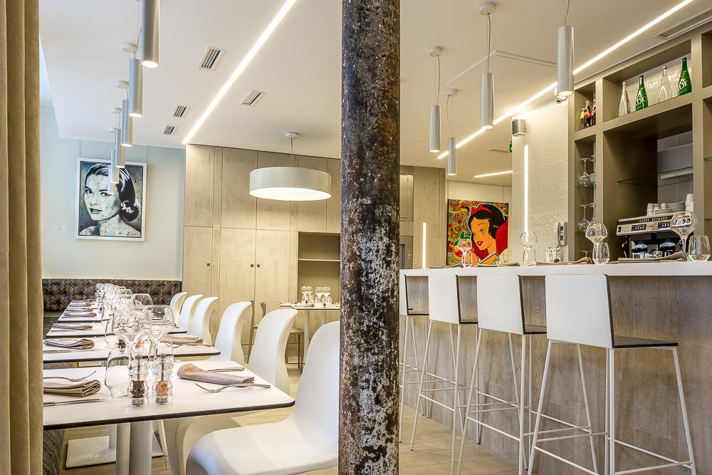 Restaurant du club Cwhite Paris. © Sébastien Borda