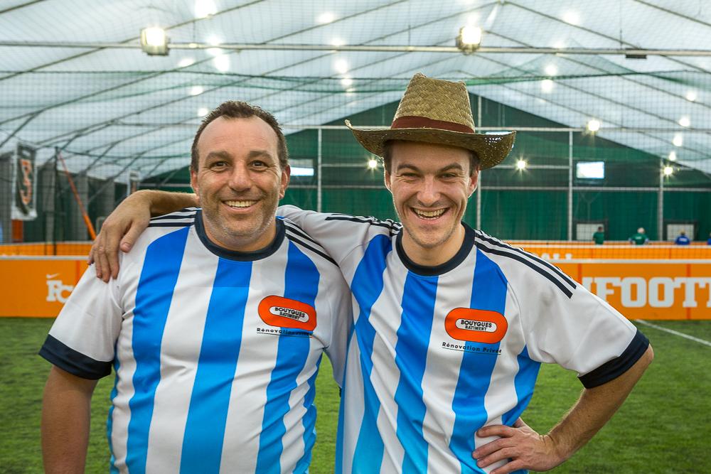 Joueurs du tournoi de football. Brésil en privé.  2014.© Sébastien Borda