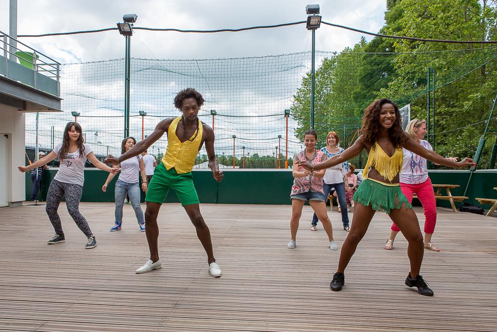 Initiation à la danse brésilienne. Brésil en privé. © Sébastien Borda