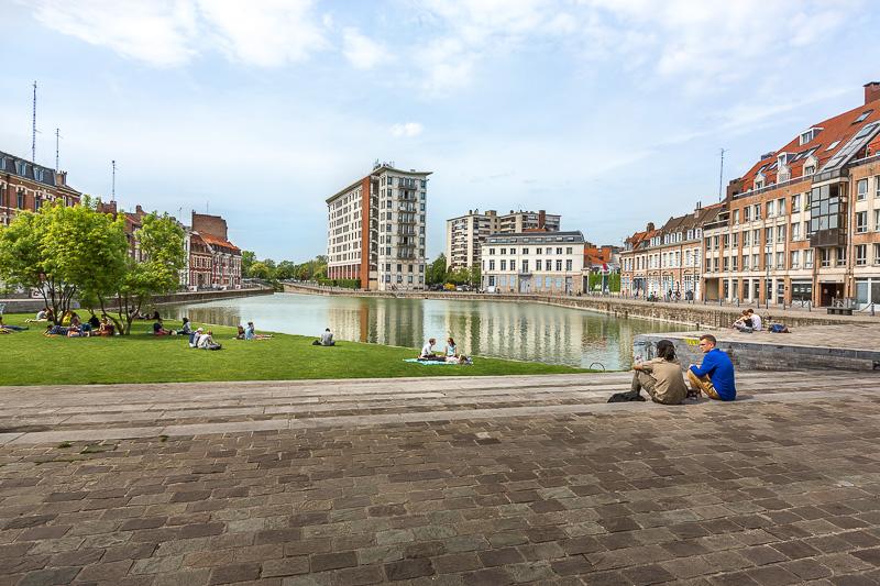 Quai du Wault, Lille. © Sébastien Borda