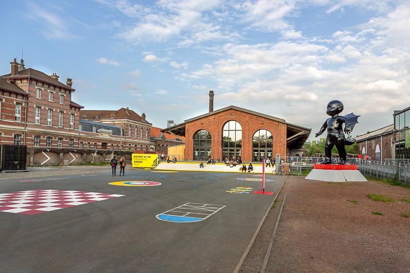 Centre culturel gare Saint Sauveur. © Sébastien Borda