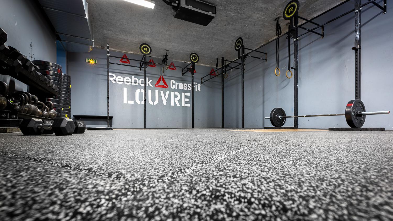 Photographie d'une salle de sport à Paris. © Sébastien Borda   www.sebastienborda.com