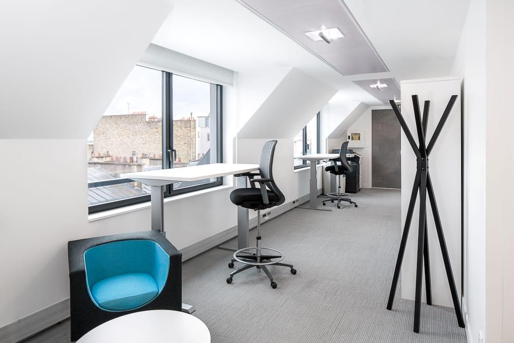 Exemple de photographie de mobilier de bureaux en entreprise. © Sébastien Borda I www.sebastienborda.com