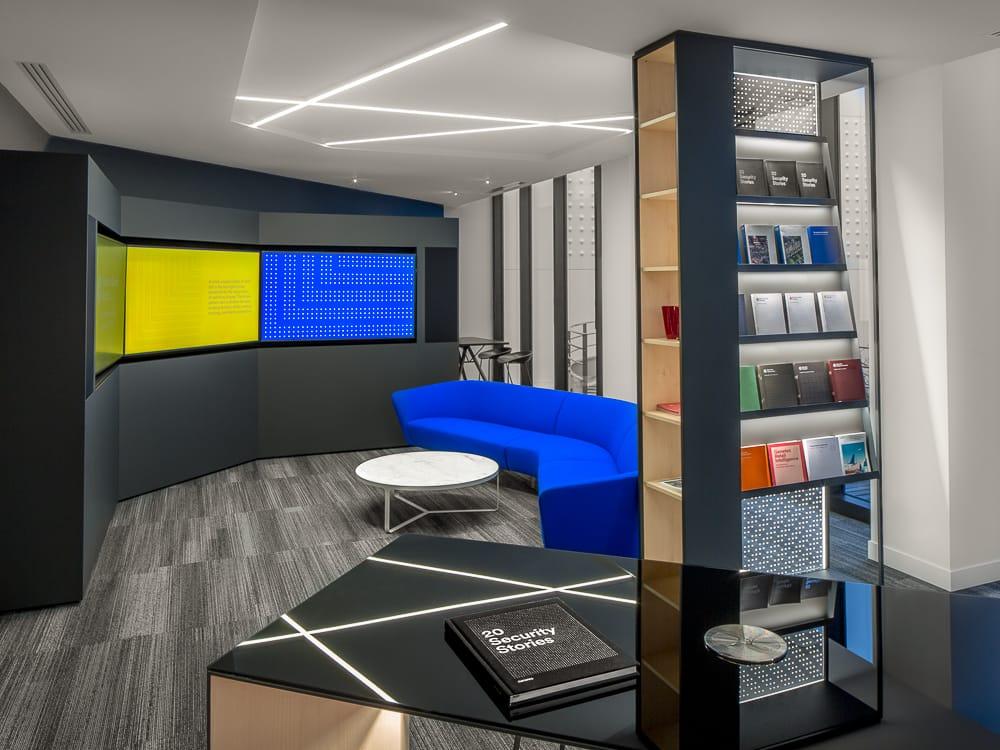 Exemple de photographie d'architecture intérieure en entreprise. © Sébastien Borda I www.sebastienborda.com