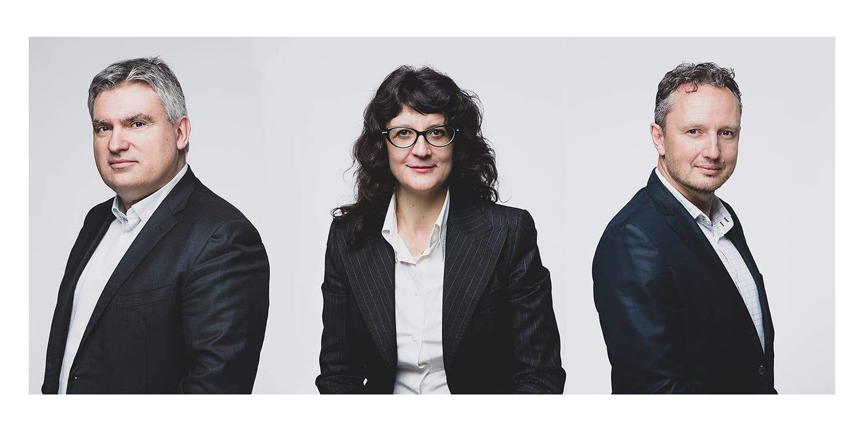 Exemple de portraits  corporate  d'un comité de direction d'une entreprise. © Sébastien Borda I www.sebastienborda.com