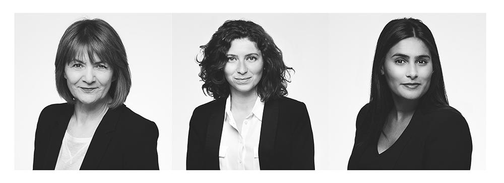 Exemple de portraits  corporate  en noir et blanc réalisés pour une entreprise. © Sébastien Borda I www.sebastienborda.com