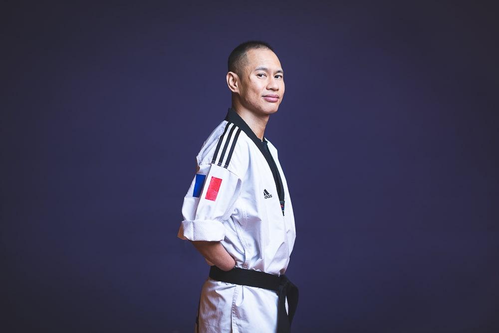 Portrait réalisé pour un article sur les sportifs de la ville de Bondy. © Sébastien Borda I www.sebastienborda.com