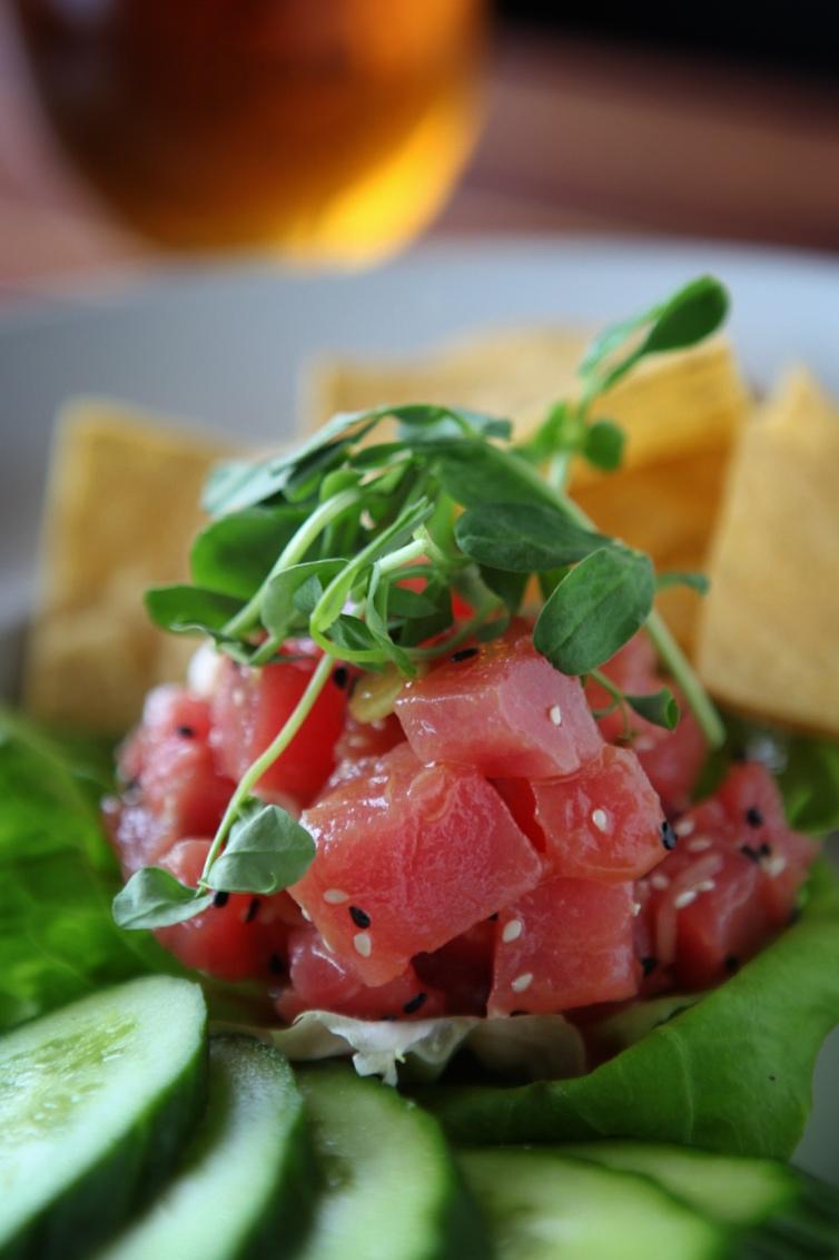 Small Plate Special: Tuna Poke