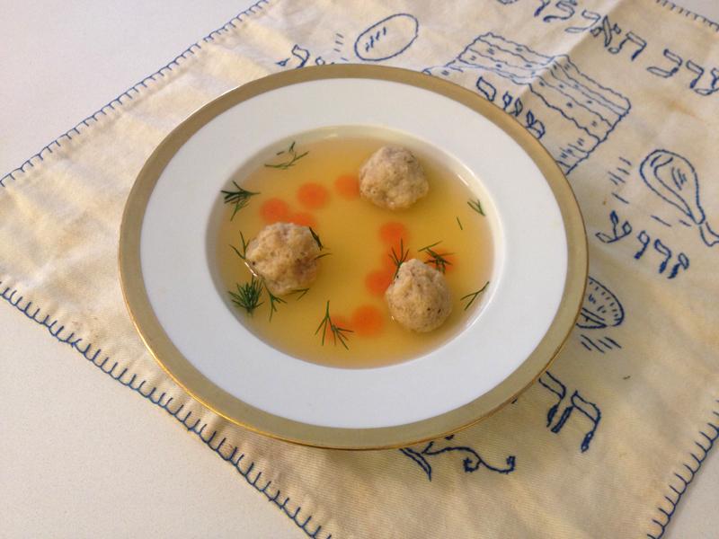 Gluten-free matzoh balls