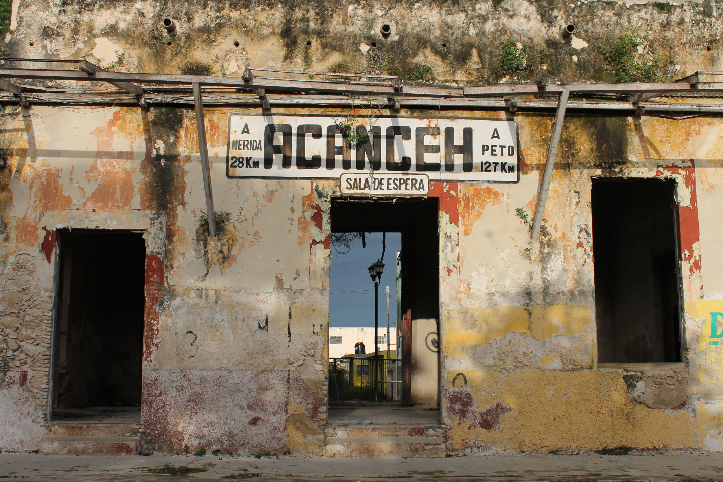 Derelict Train Station of Acanceh