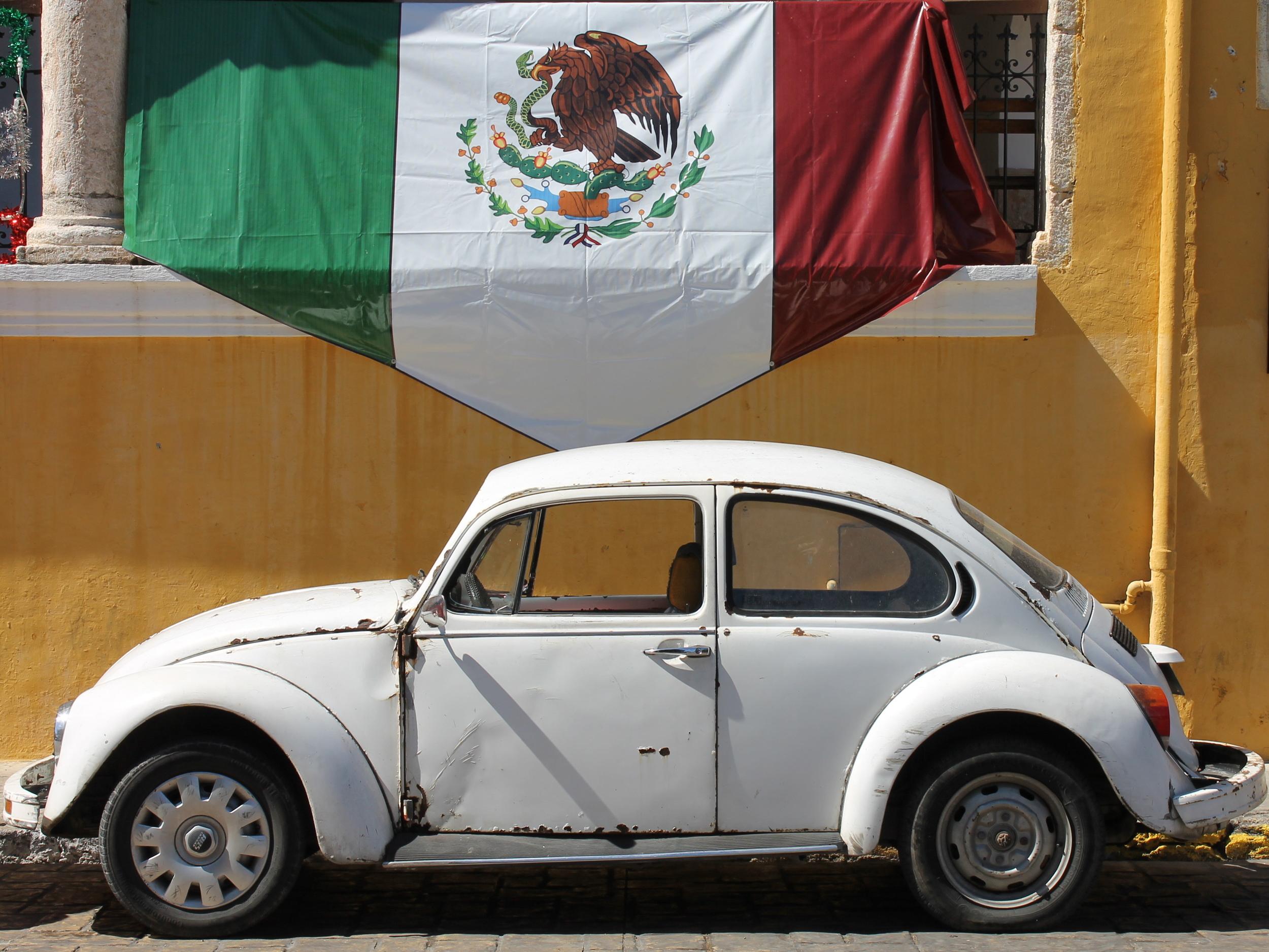 Volkswagen in Izamal