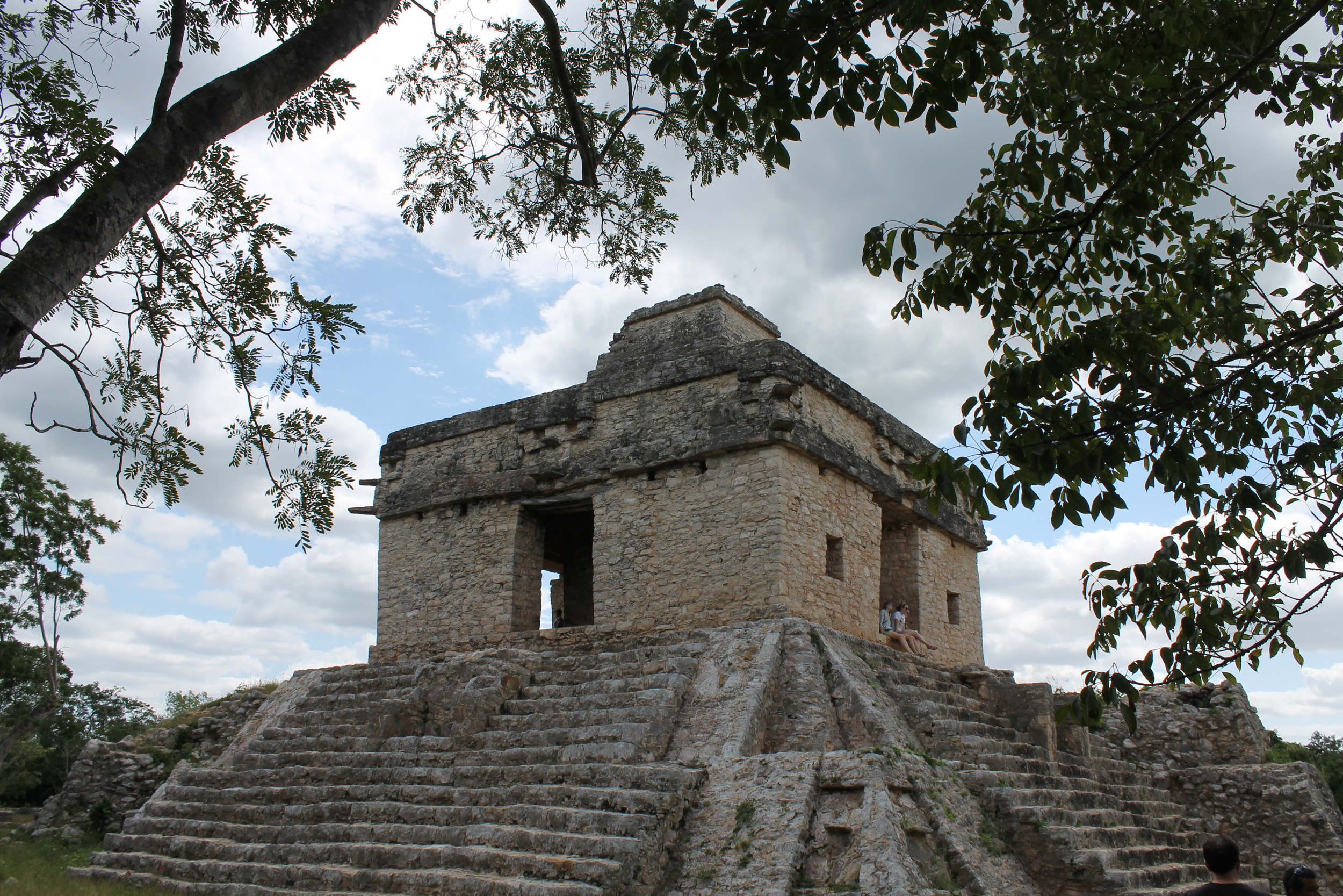 Temple of the Seven Dolls at Dzibilchaltun