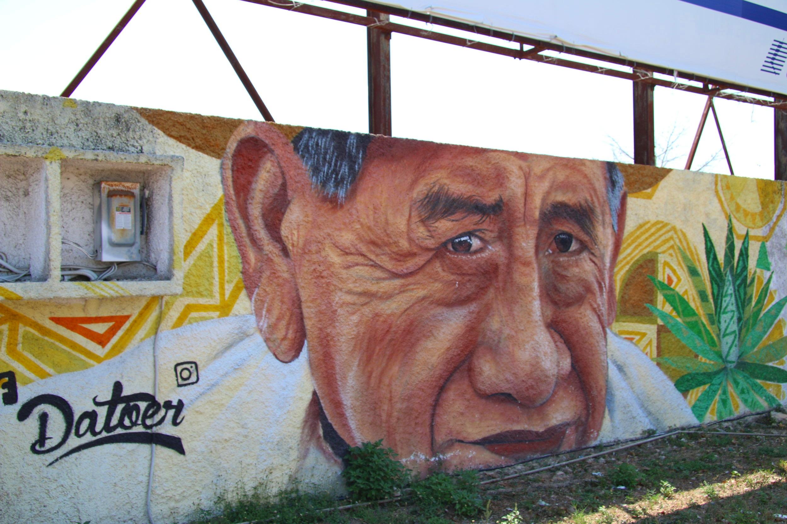 Datoer murals in Motul.