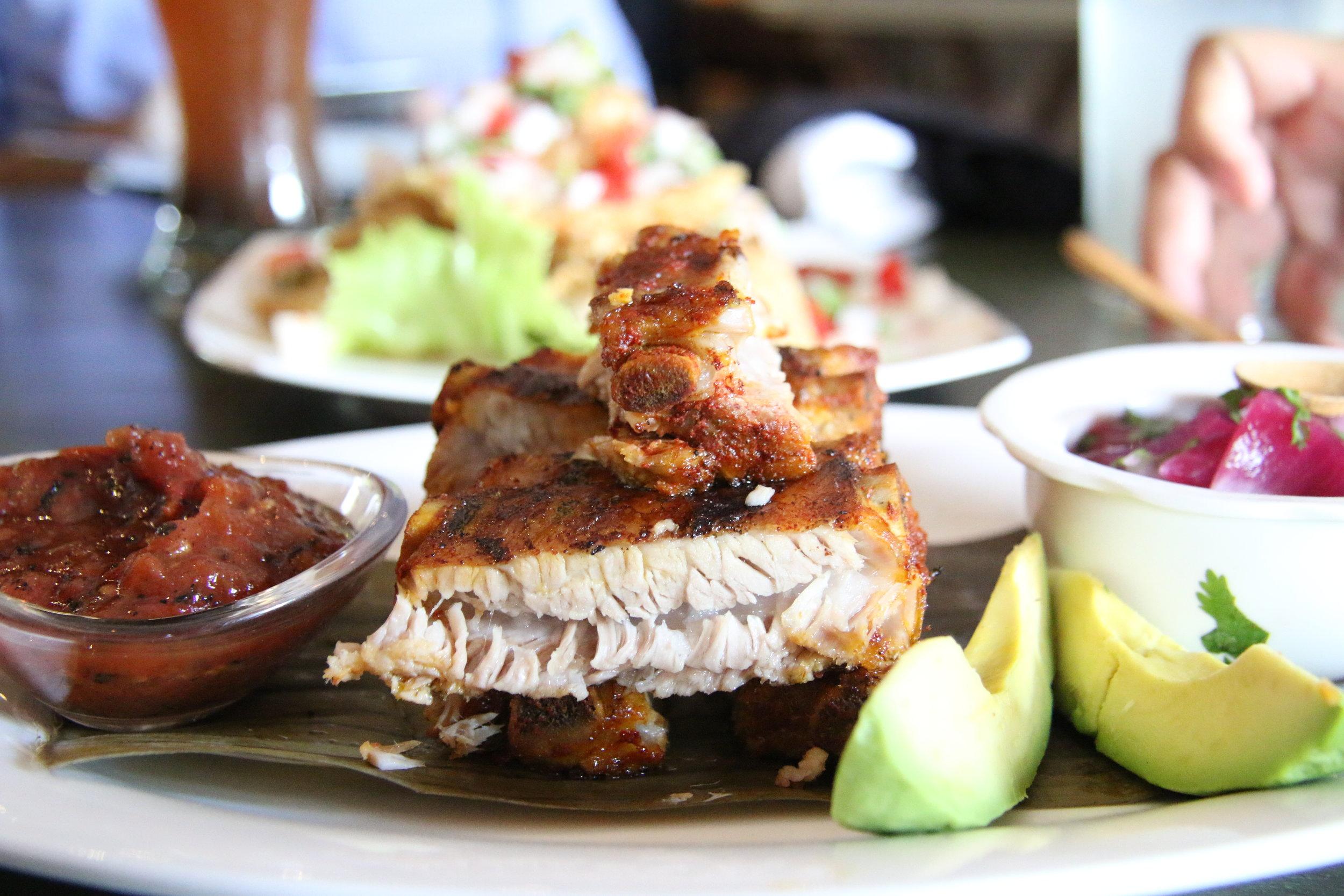 A pork rib appetizer :)