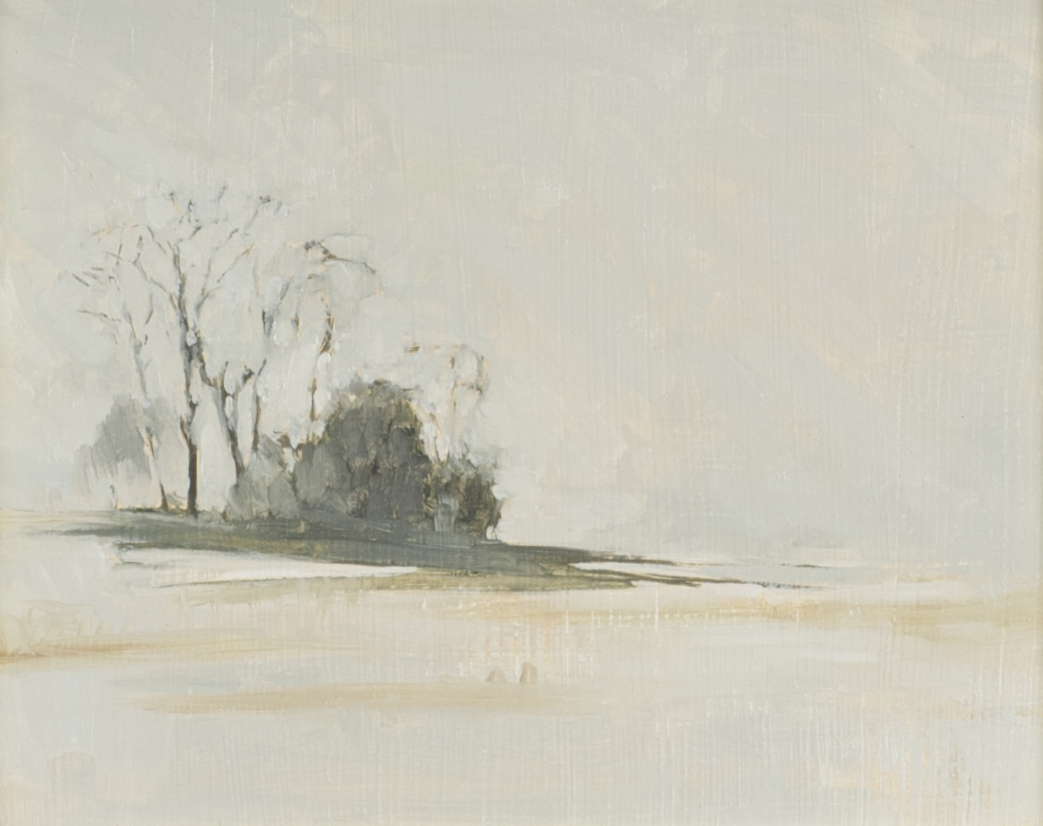 Through the Snow (study)