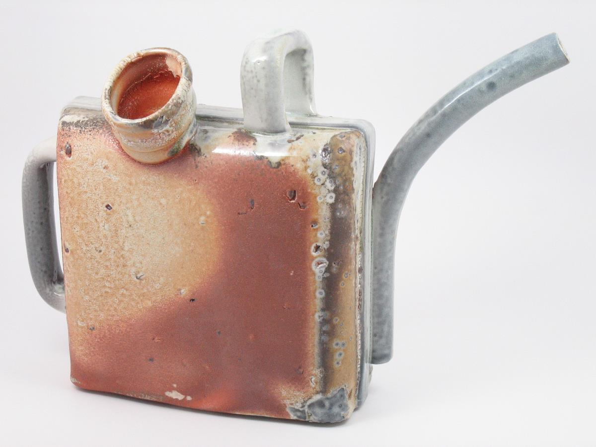Watering Can 2 - 14%22x4%22x9 3:4%22 - Porcelain with Bloated Shale - Side 2.JPG