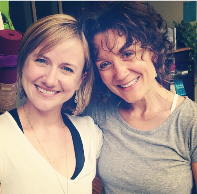 Haven't taken class with Erin Cowan? Why not?   Remedy that now at Moksha Yoga Center.