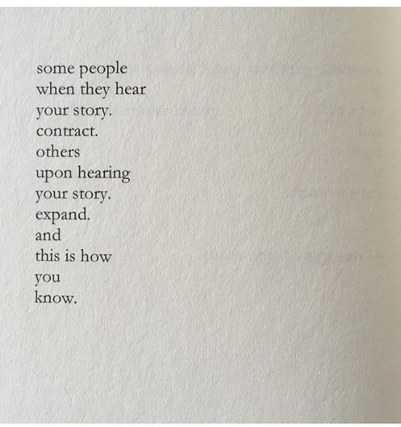 Poem by nayyirah waheed from  salt.