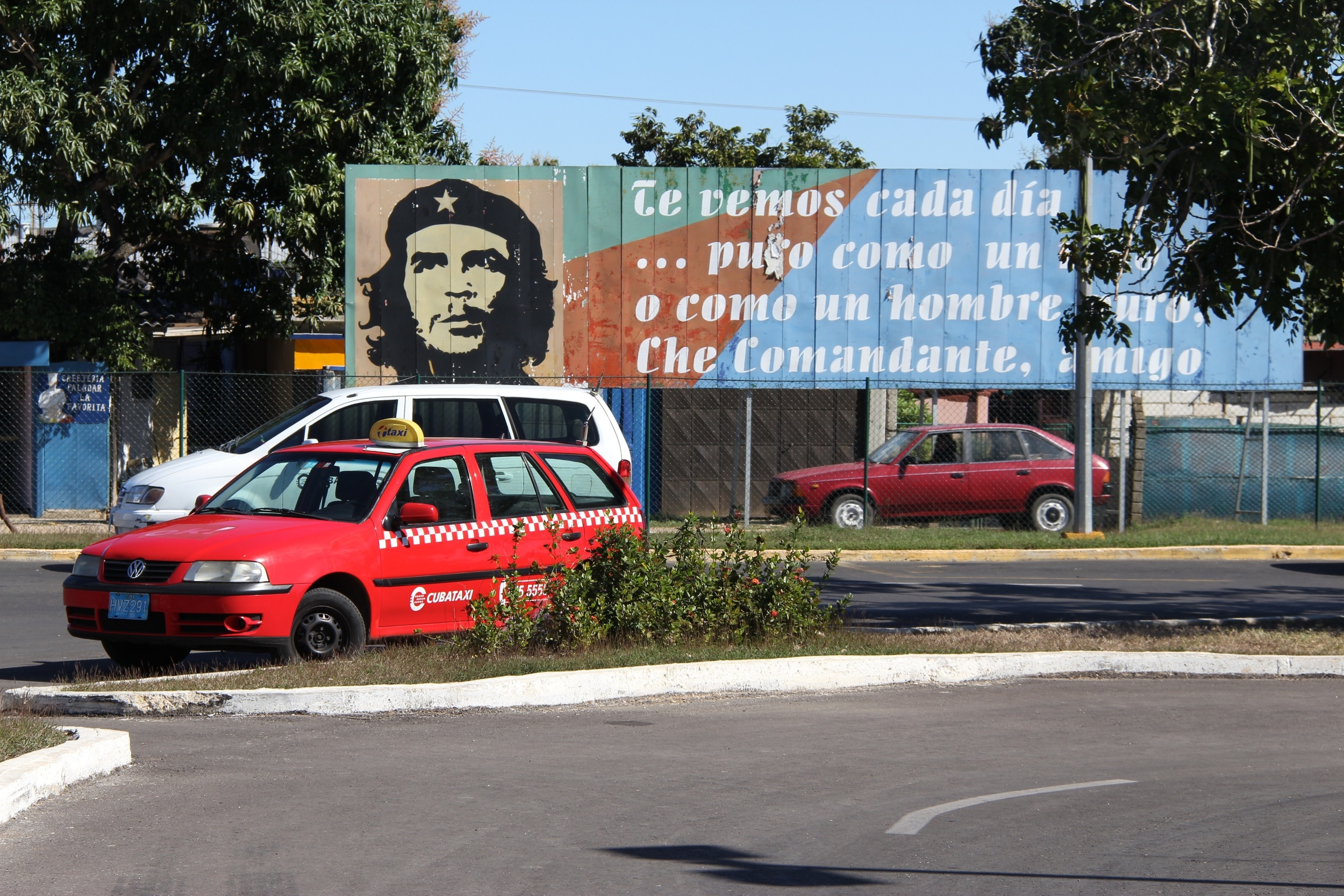 Cuba, outside Jose Marti airport.
