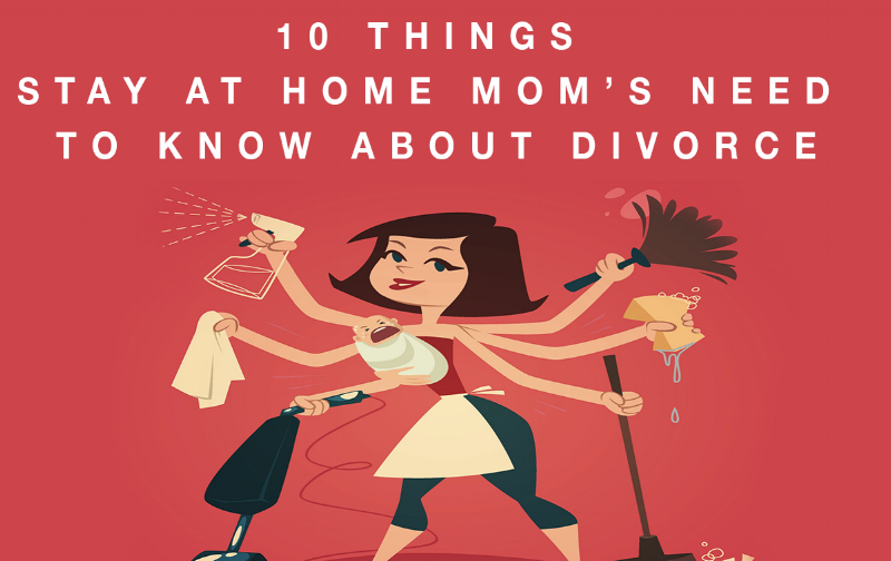 stay at home mom divorce