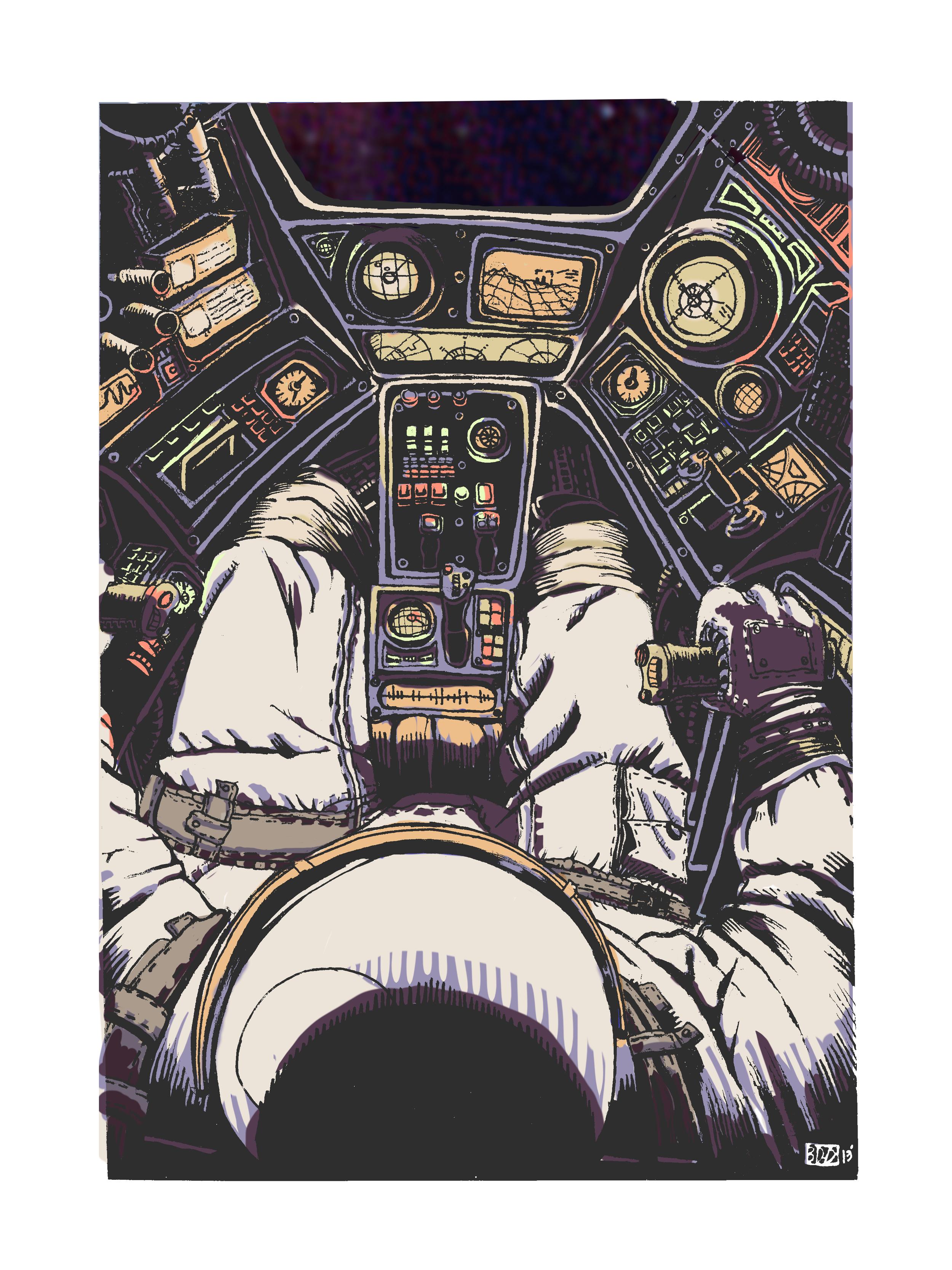 Cockpit  Ink & Digital   2013