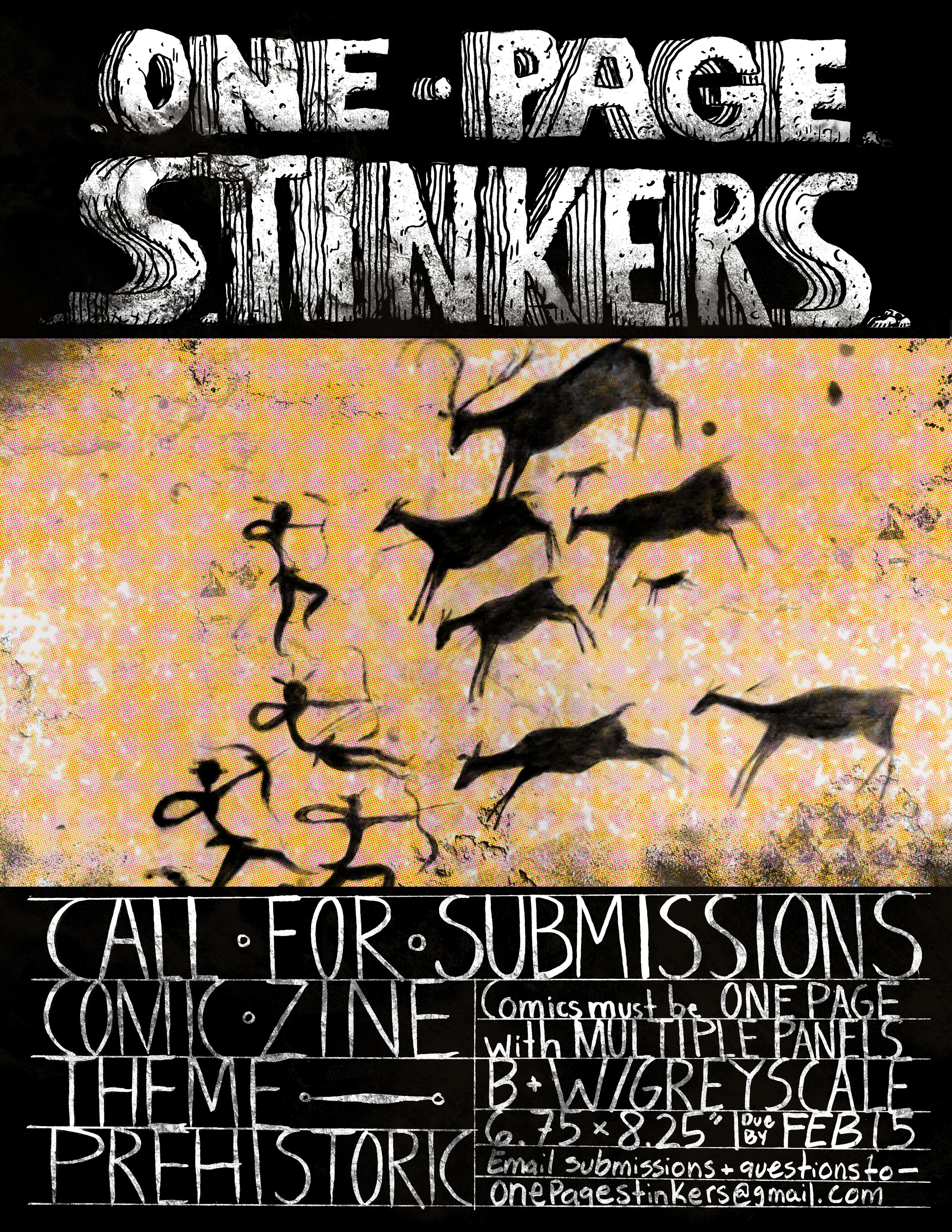 FLyer - Made for One Page Stinkers Vol.6, 2017