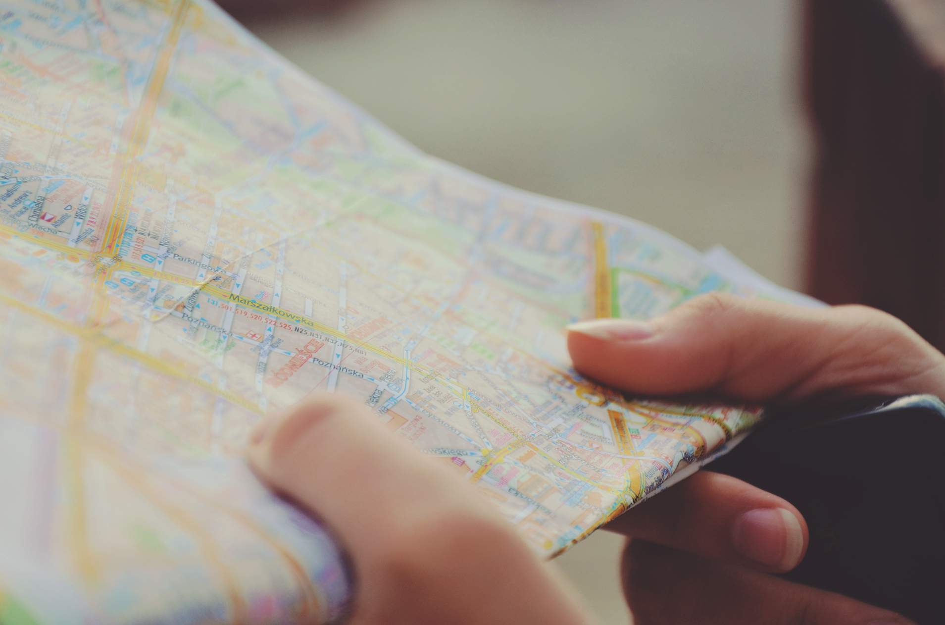 You are here.You want to get there. - We can help.