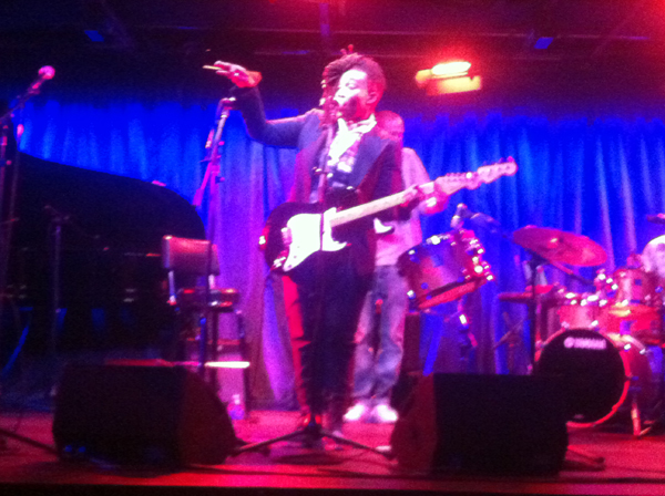 Tawiah on Stage - New York 2