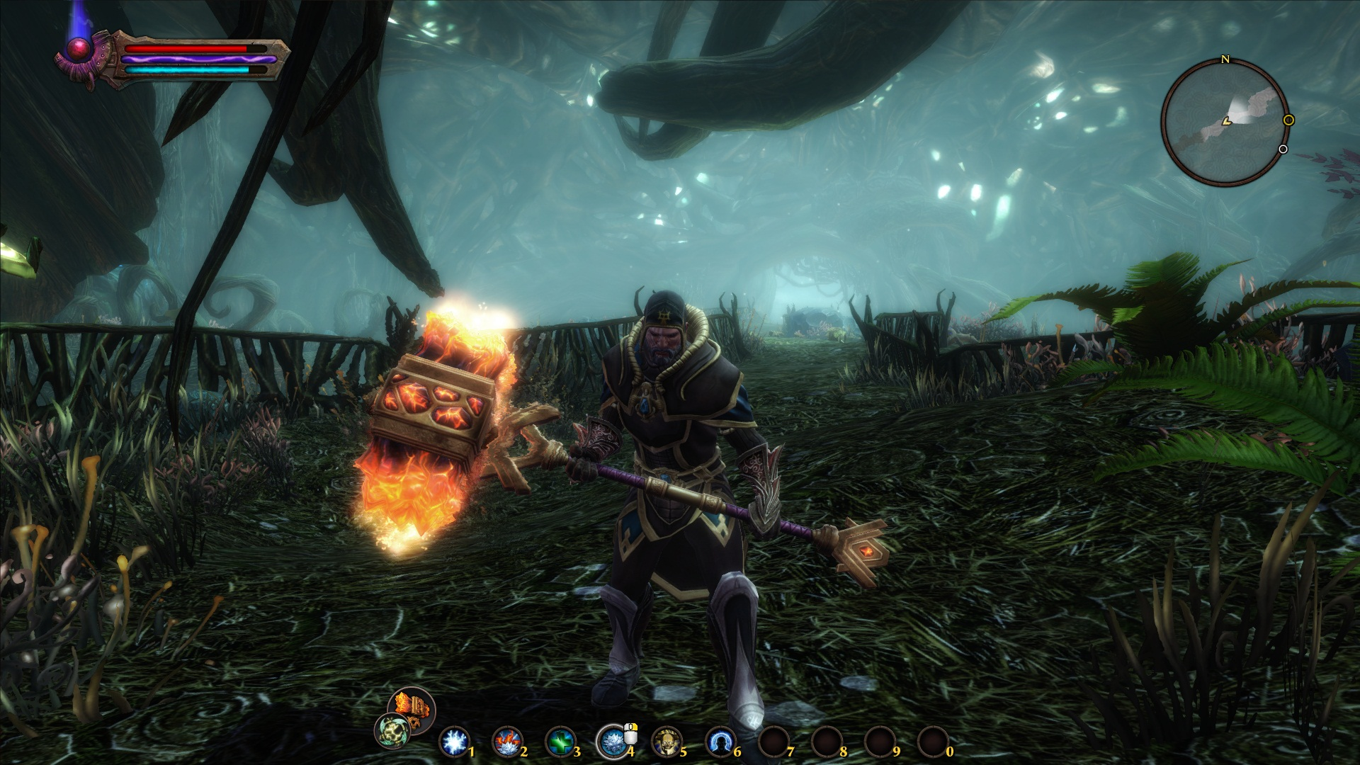 The Heart of Ember:an awesome looking hammer you won't be using