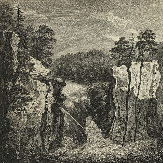 A view of the falls on the Passaic in 1755 engraved by#paulsandbyafter sketches by#thomaspownall#passaics