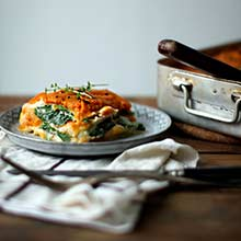 """Vegan Butternut Squash Lasagna from the simply amazing blog """"My New Roots."""""""