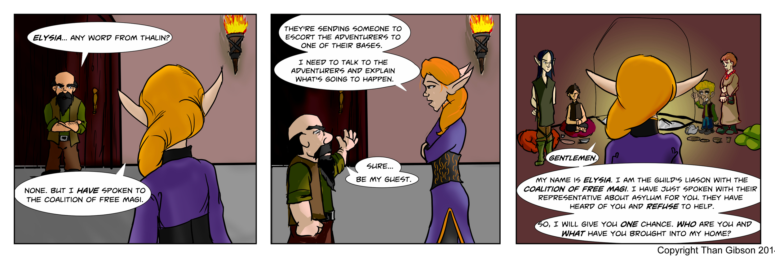 Strip 19 - Click image for a LARGER view.