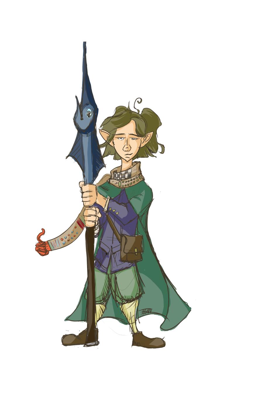 Halfling Druid