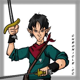 Half-Elf Fighter