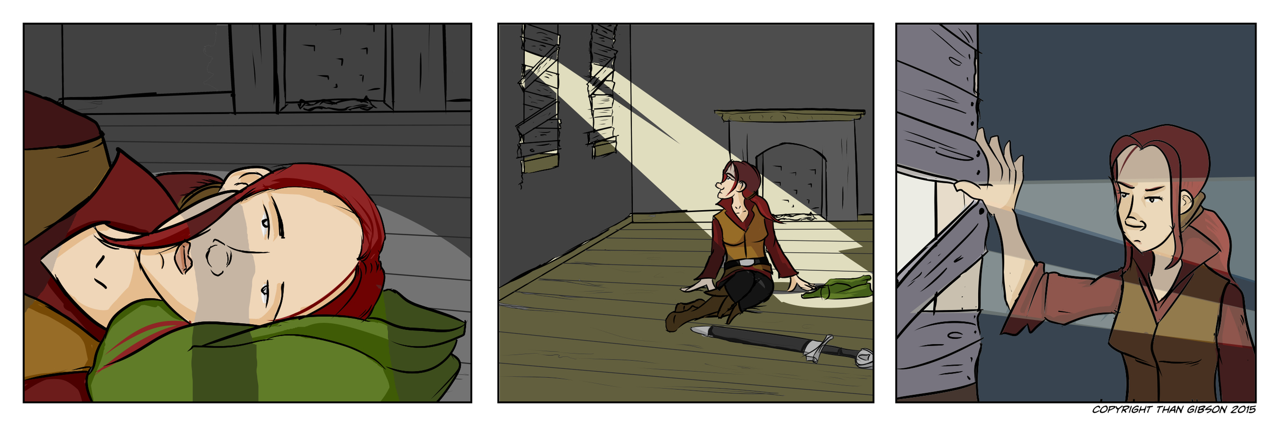 A Chronicle of Thieves -Chapter 2, Strip 02